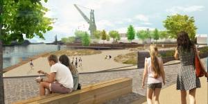 toekomstig Houtdokpark, (C) Tom Beyaert, Groendienst Gent